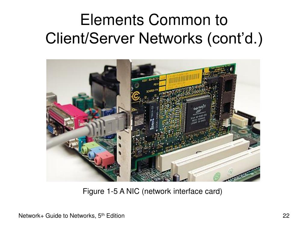 Figure 1-5 A NIC (network interface card)