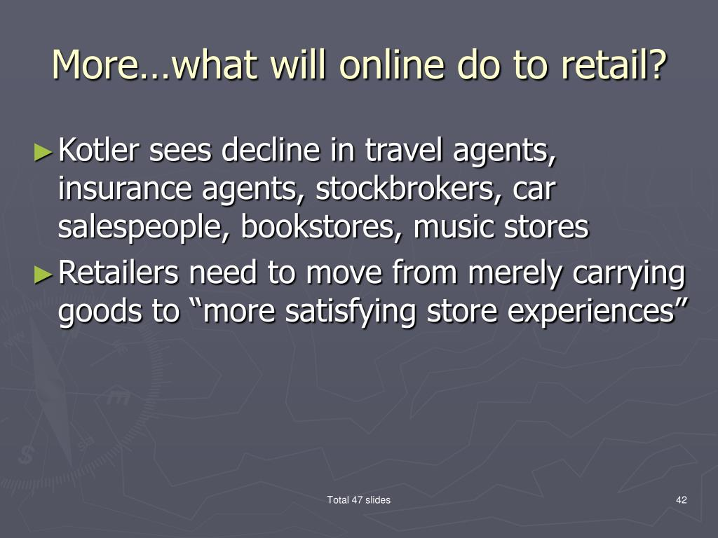 More…what will online do to retail?