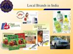 local brands in india