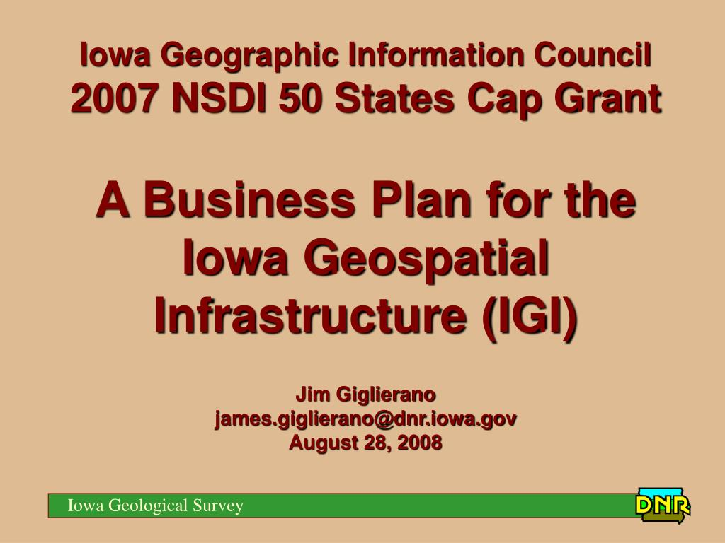 Iowa Geographic Information Council