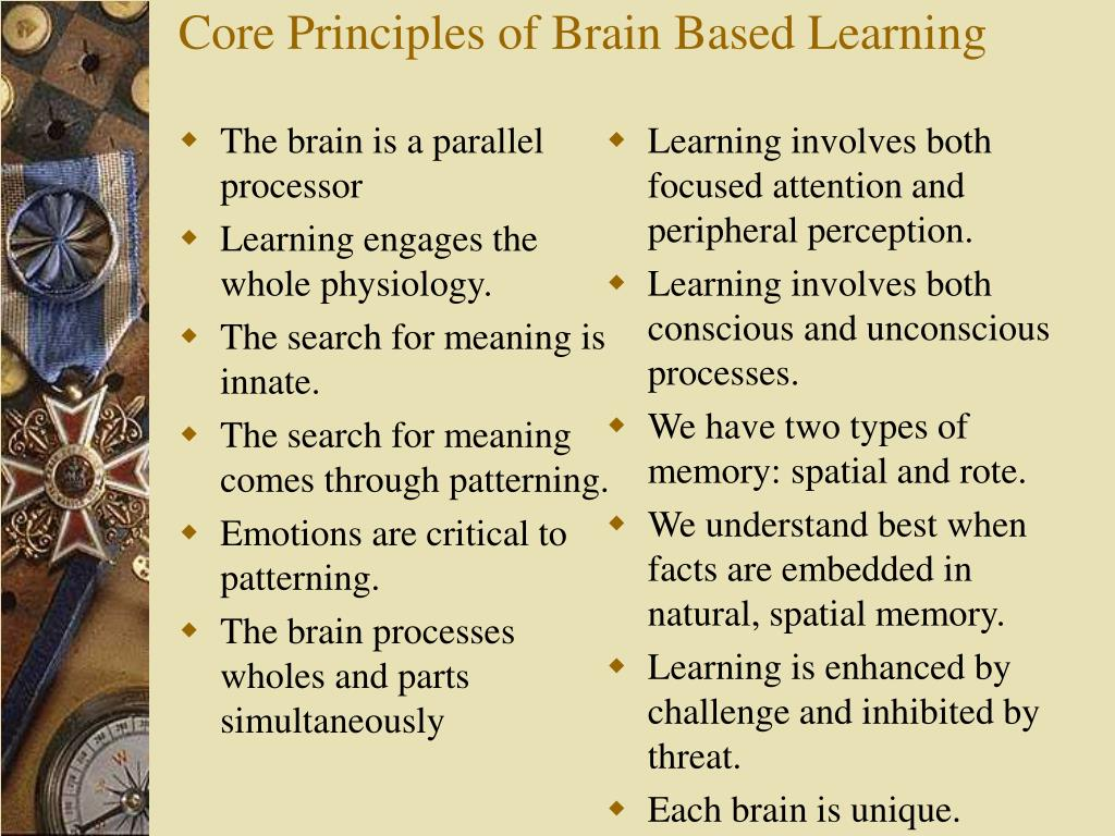 The brain is a parallel processor