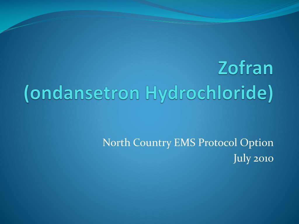 zofran ondansetron hydrochloride l.