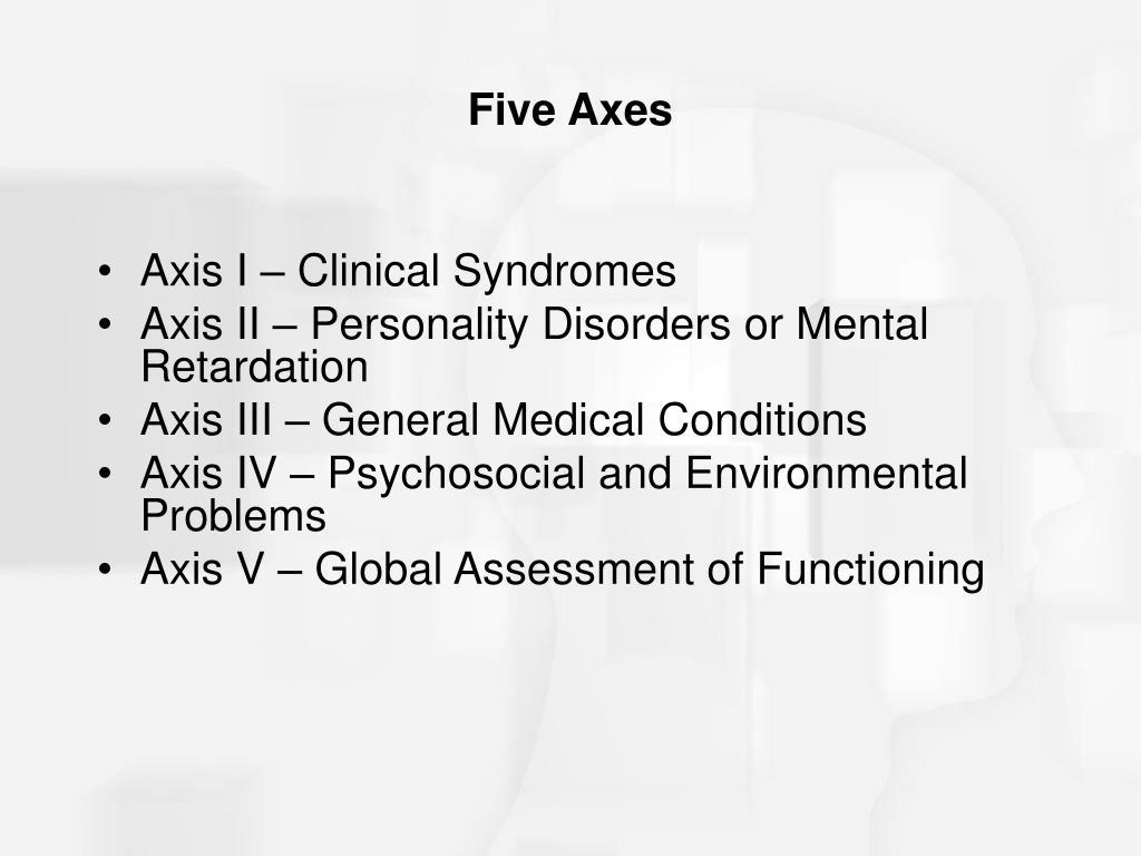 Five Axes