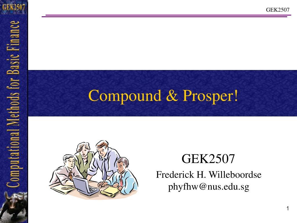compound prosper l.