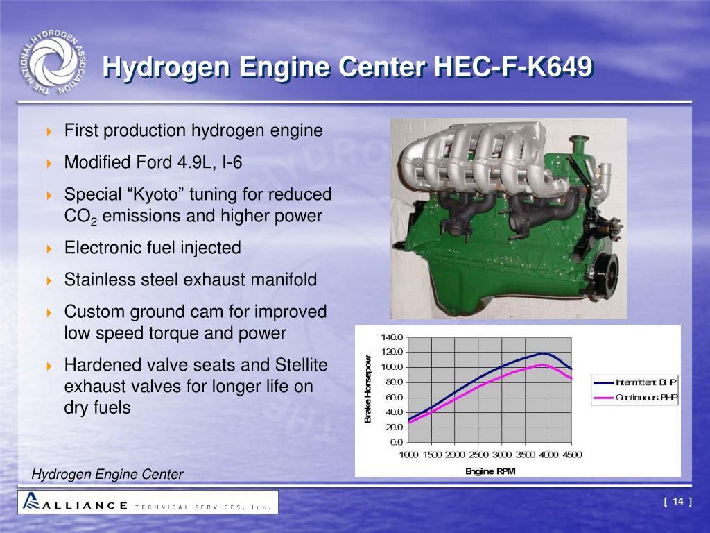 Hydrogen Engine Center HEC-F-K649
