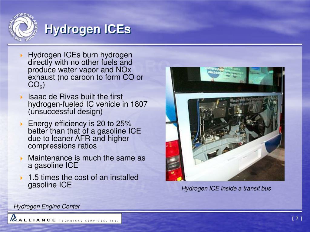 Hydrogen ICEs
