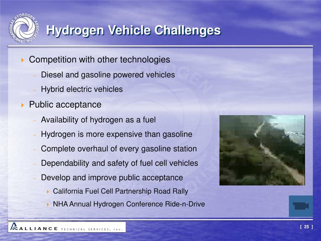Hydrogen Vehicle Challenges