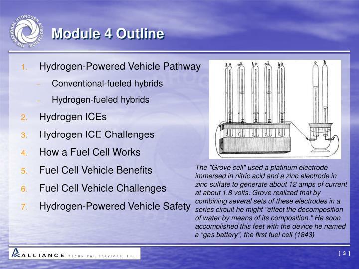 Module 4 outline