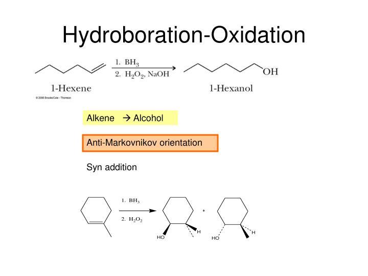 Hydroboration Oxidation On Ring