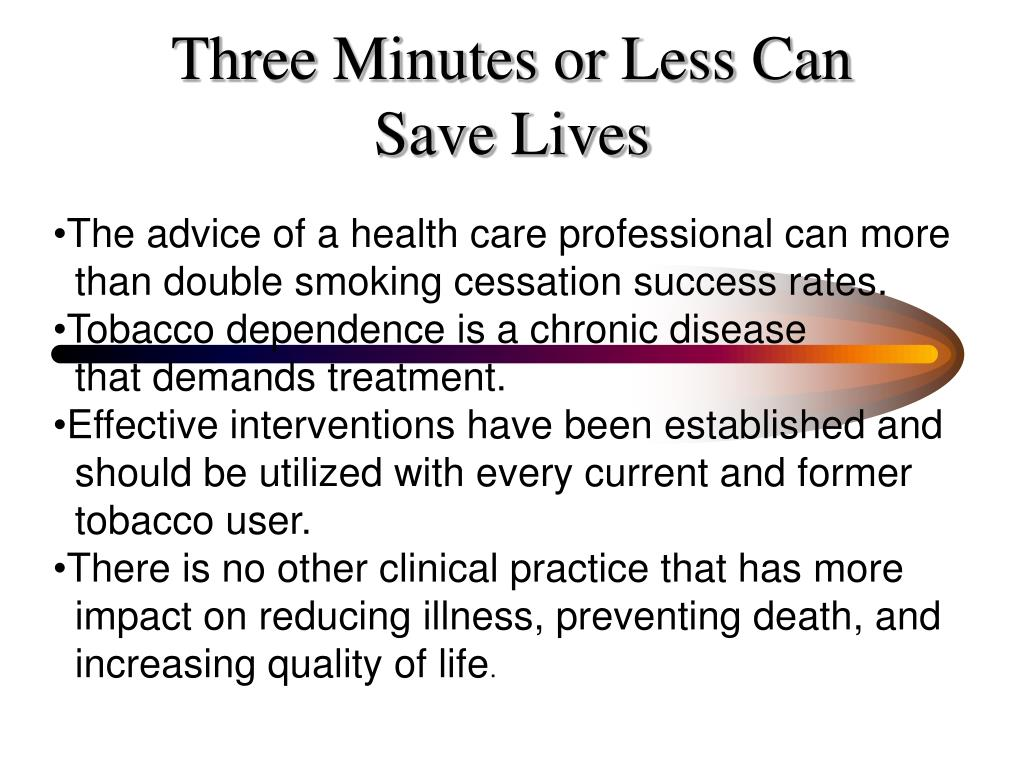 Three Minutes or Less Can
