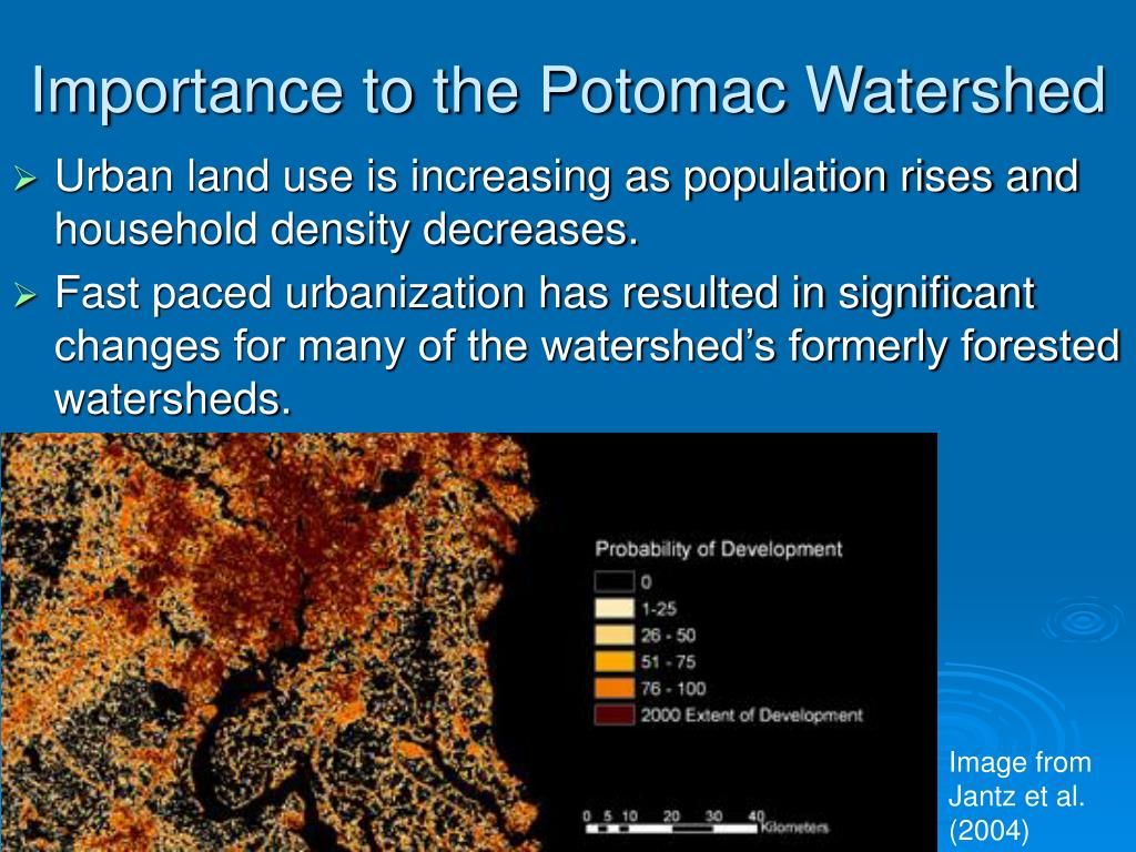 Importance to the Potomac Watershed