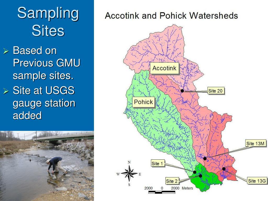 Based on Previous GMU sample sites.