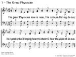 1 the great physician