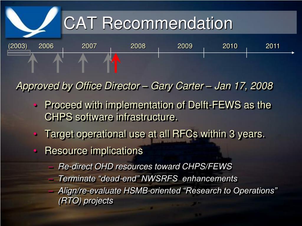 CAT Recommendation