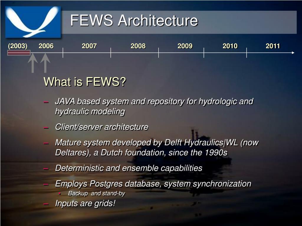 FEWS Architecture