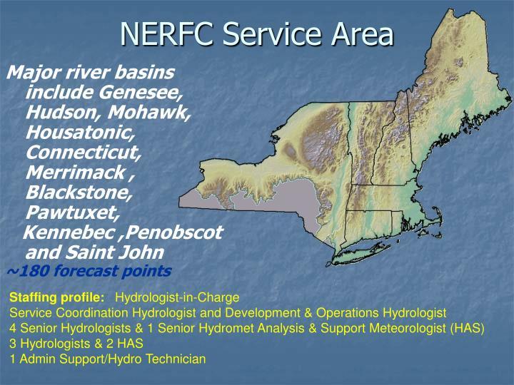 Nerfc service area