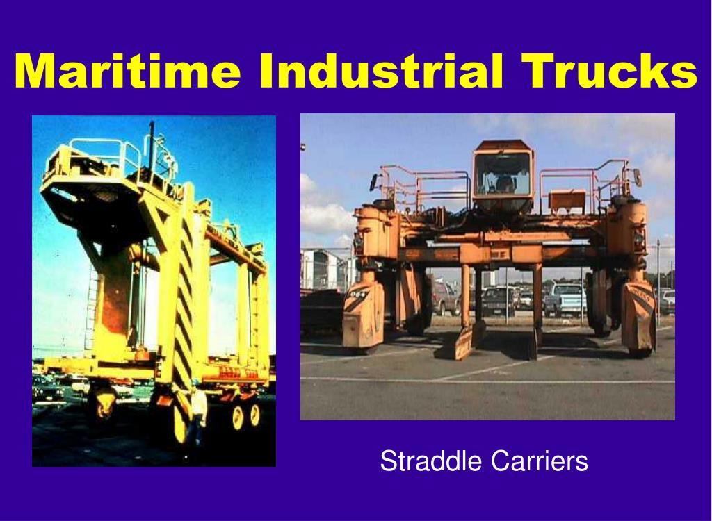 Maritime Industrial Trucks