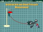 artificial arm and blood pressure measurement32