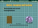 optics imaging and seeing25