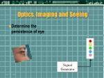 optics imaging and seeing27