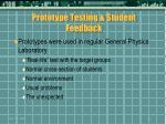 prototype testing student feedback40