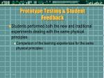 prototype testing student feedback41
