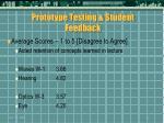 prototype testing student feedback46