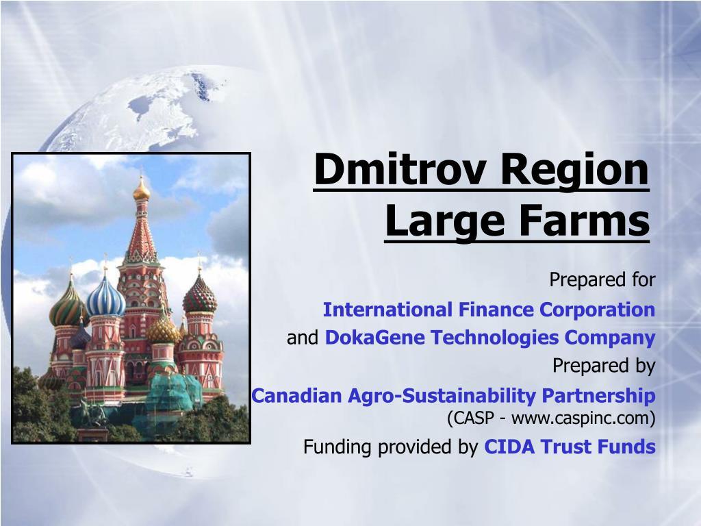 dmitrov region large farms l.