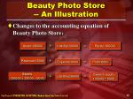 beauty photo store an illustration