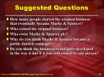 suggested questions