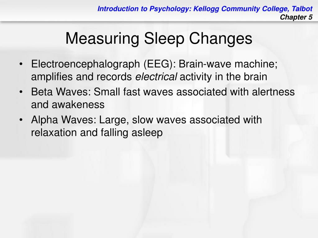 PPT - Chapter 5 States of Consciousness PowerPoint Presentation - ID