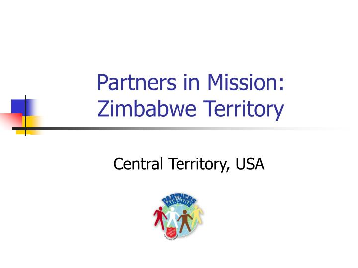 Partners in mission zimbabwe territory