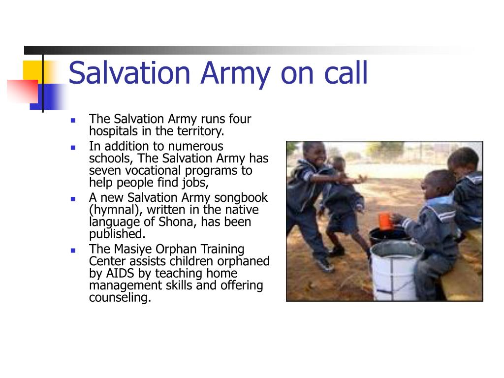 Salvation Army on call