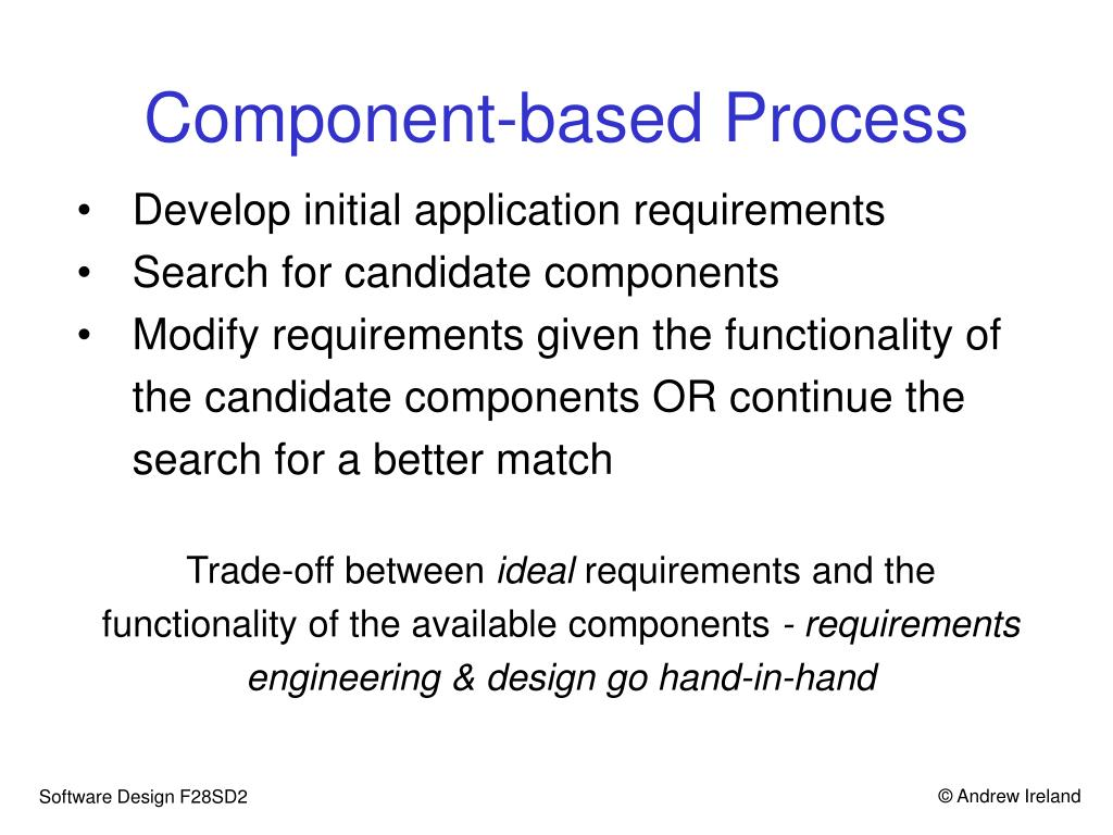 Component-based Process