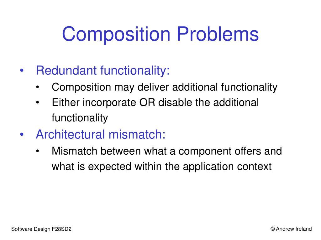 Composition Problems