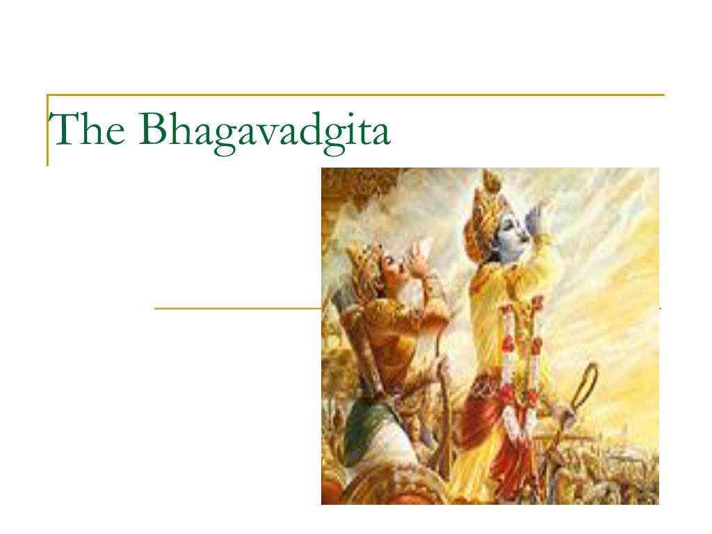 the bhagavadgita l.
