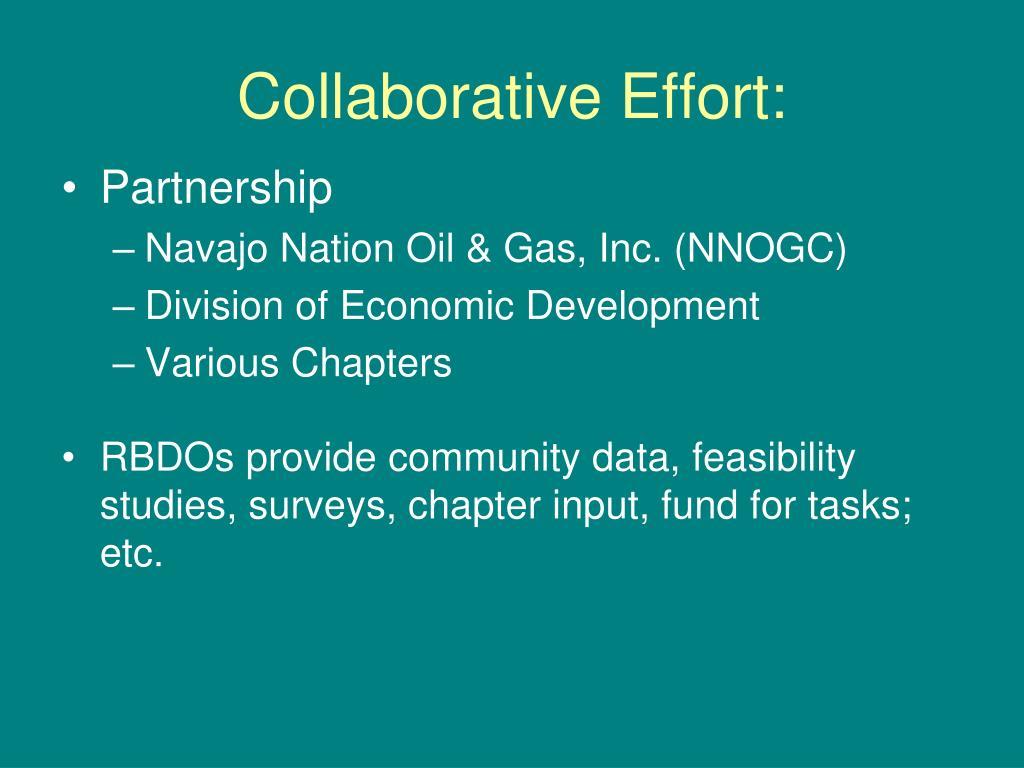 Collaborative Effort:
