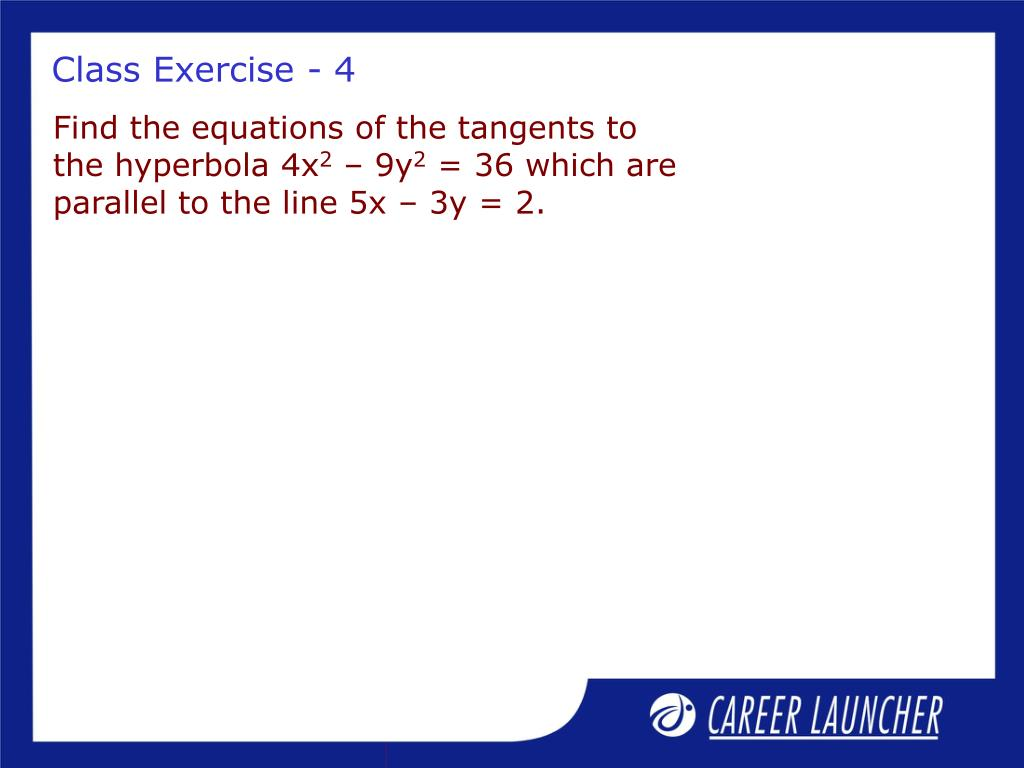Class Exercise - 4