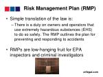 risk management plan rmp29