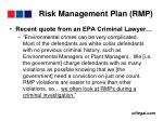 risk management plan rmp30