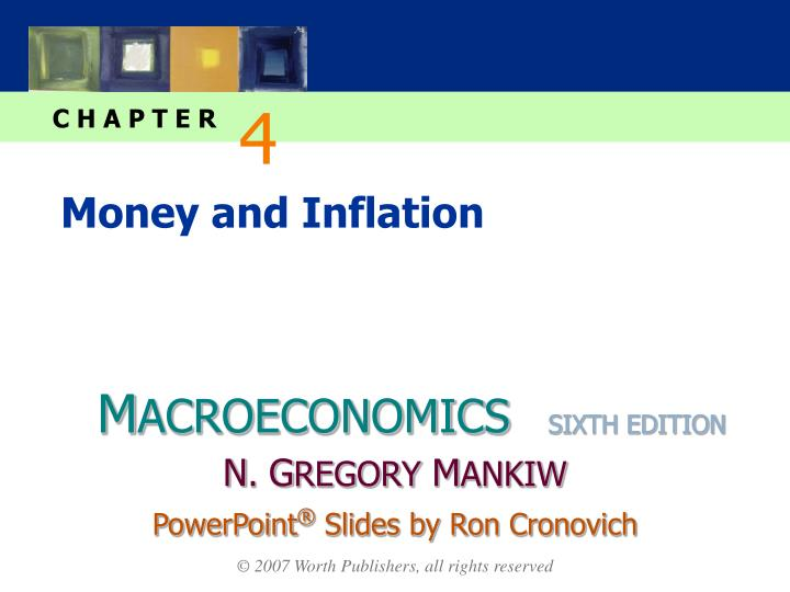 money and inflation n.