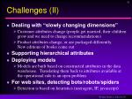 challenges ii