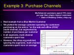 example 3 purchase channels