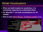 model visualizations
