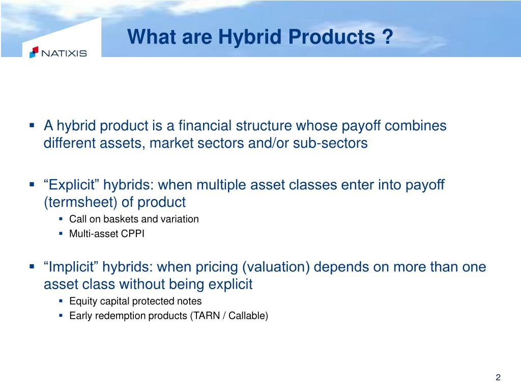 What are Hybrid Products ?