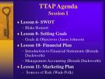 ttap agenda session i22