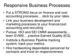 responsive business processes