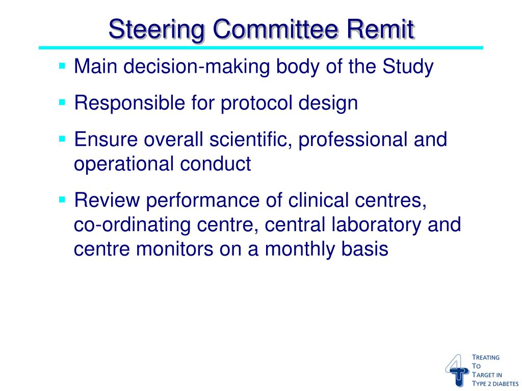 Main decision-making body of the Study