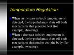 temperature regulation9