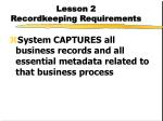 lesson 2 recordkeeping requirements8